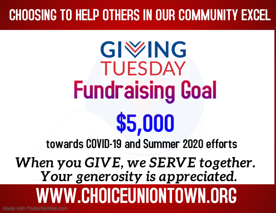 Giving (Now) Tuesday 2020